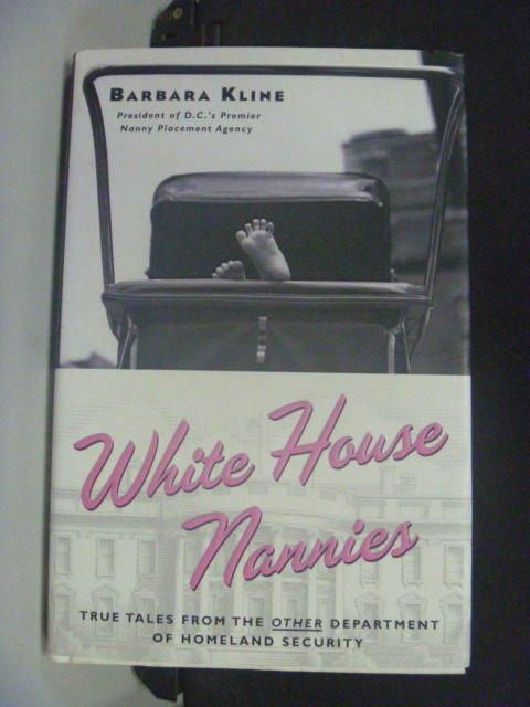 【書寶二手書T2/原文小說_KMG】White House Nannies