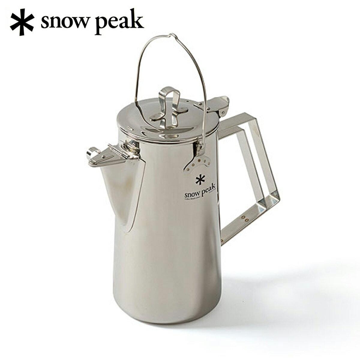 日本必買 免運/代購-日本製SNOW PEAK不鏽鋼營火熱水壺/戶外鍋具/登山/不鏽鋼鍋具/SNOWPEAKCS-CS-270