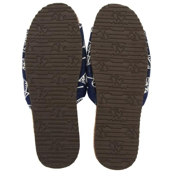 好葉輕軟木室內拖鞋 86073 藍26 NITORI宜得利家居 2