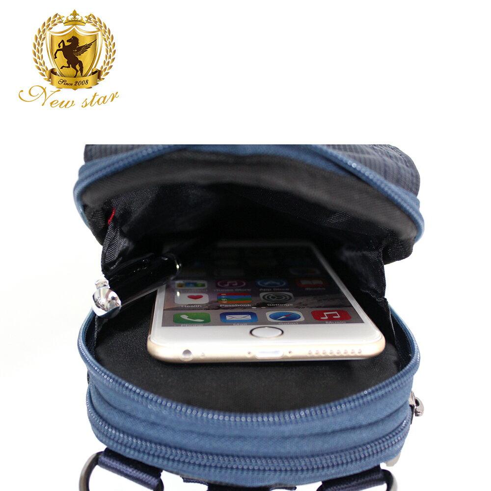 腰包 輕便素面迷彩雙層掛包側背包手機包包 NEW STAR BW33 7