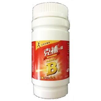 【克補】+鐵 100顆/瓶 ◤安康藥妝◢ - 限時優惠好康折扣