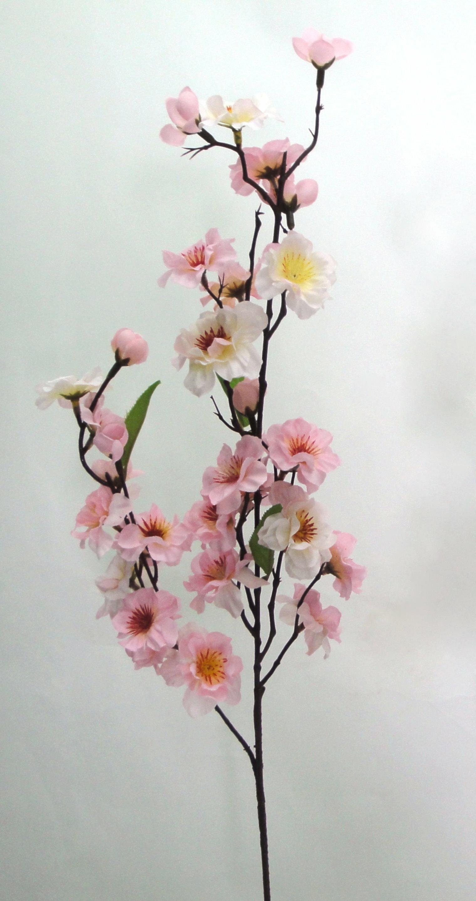 ★超低價★27吋 雙叉櫻花枝-粉紅 / 人造花 空間 景觀 佈置 造景