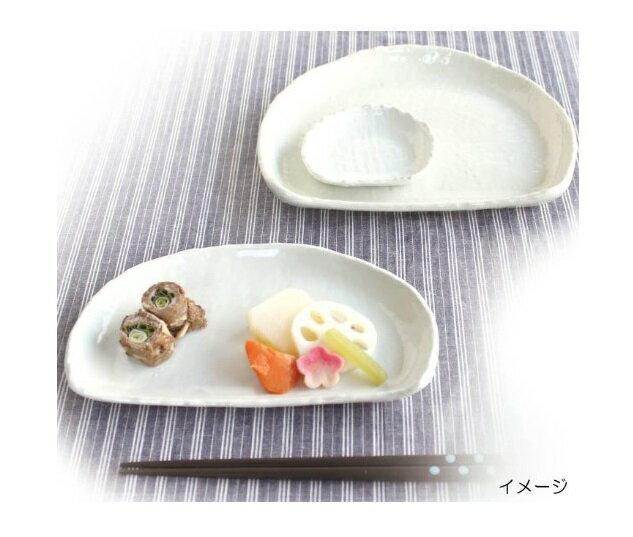【This-This】日本 Izawa 美濃燒 白化粧半月型餐盤 - 小 / 中 / 大
