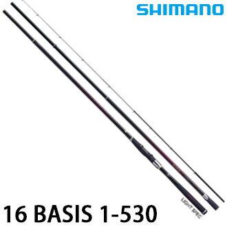 漁拓釣具 SHIMANO 16 BASIS 1-530 (磯釣竿)