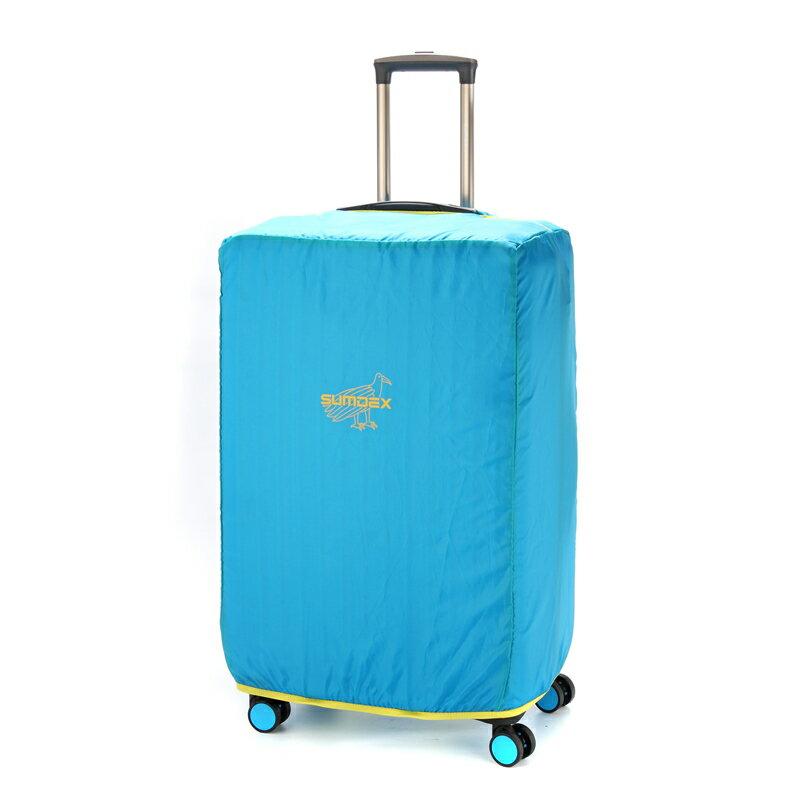 【加賀皮件】SUMDEX 輕便 耐磨 防潑水 防塵套 行李箱套 M號(24-25吋) SWR-409