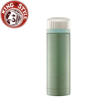 金時代書香咖啡 Tiamo 馬卡龍輕甜系列 隨手杯300cc 保溫瓶 綠色
