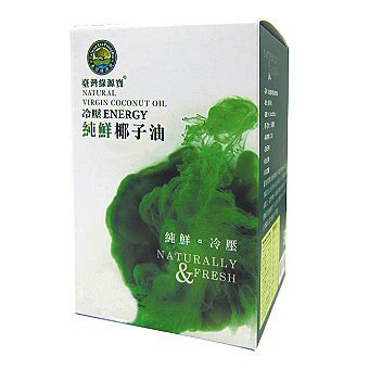 綠源寶  I 純鮮椰子油(冷壓初榨)(罐裝)  I  470毫升 料理油/養生健康