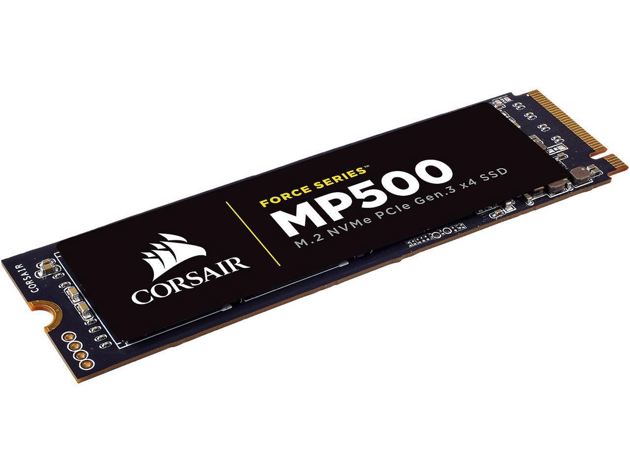 Corsair SSD Force Series MP500 M.2 2280 240GB NVMe PCI-Express 3.0 x4 MLC 240G PCIe Gen. 3 Internal Solid State Drive CSSD-F240GBMP500 2