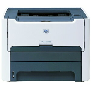 HP LaserJet 1320 Laser Printer - Monochrome - 1200 x 1200 dpi Print - Plain Paper Print - Desktop - 22 ppm Mono Print - Letter, Legal, Executive, Index Card, Envelope No. 10, Monarch Envelope, Custom Size - 250 sheets Standard Input Capacity - 10000 Duty 1