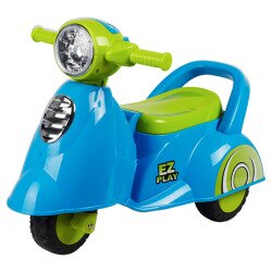 寶貝樂 motorcycle機車學步車/助步車-藍色(BTRT605B)