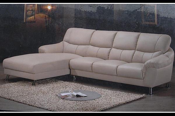 【石川家居 】SA-37 軟式半牛皮L型沙發 台灣製造 可訂色、尺寸 貴妃椅 可換邊