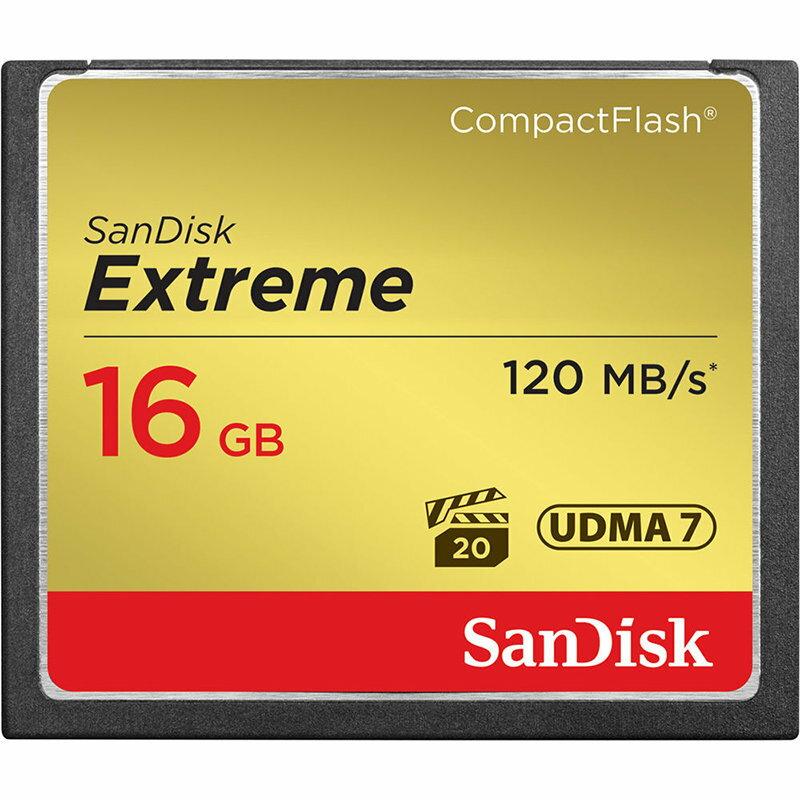 ◎相機專家◎ Sandisk Extreme 16GB CF 800X 120MB/s 16G 群光公司貨