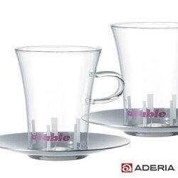 【ADERIA】ELLE 精製咖啡杯組 HS-811 / 日本製 石塚哨子 耐溫120度 玻璃杯 紅酒 小酌 宴客