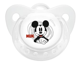 『121婦嬰用品館』NUK 米奇安睡型矽膠安撫奶嘴 - 初生