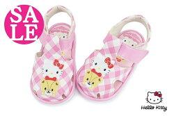 Hello kitty 小童學步涼鞋 嗶嗶鞋 台灣製  前包後空護趾寶寶涼鞋G6229#粉紅◆OSOME奧森鞋業  零碼出清