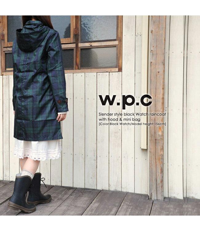 雨衣 格紋鈕釦防水雨衣 / 風衣外套【EL1009】 BOBI  04 / 07 2