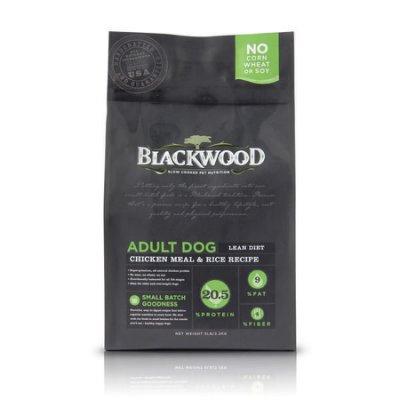 WDJ Blackwood 柏萊富天然寵糧 特調低卡保健配方  雞肉 糙米  15LB 1