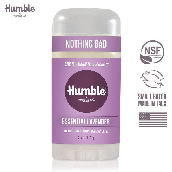 免運 美國【Humble】水晶體香膏 – 純薰衣草 70g