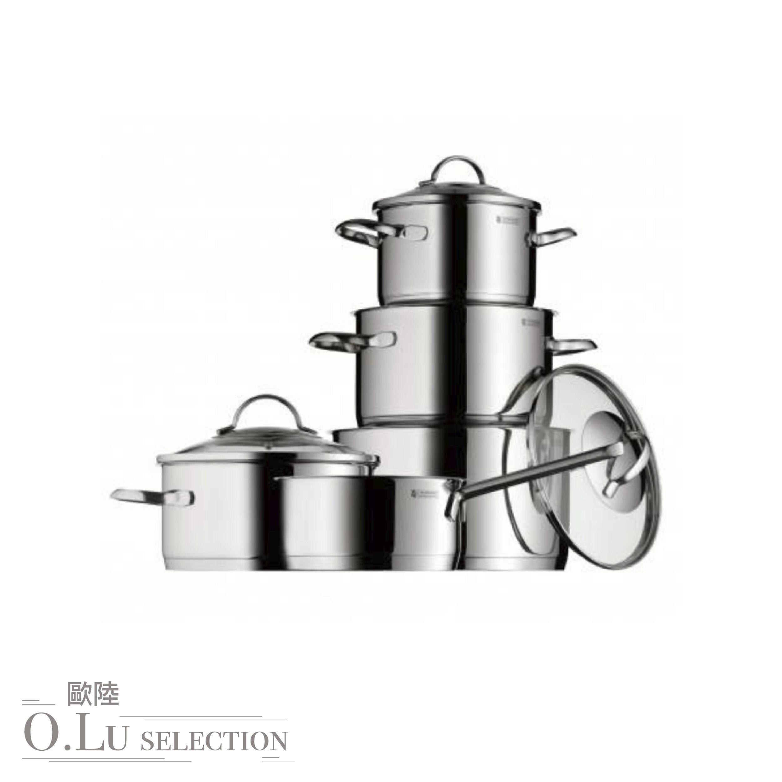 德國 WMF Cookware set PROVENCE PLUS 不鏽鋼鍋 五件組 0