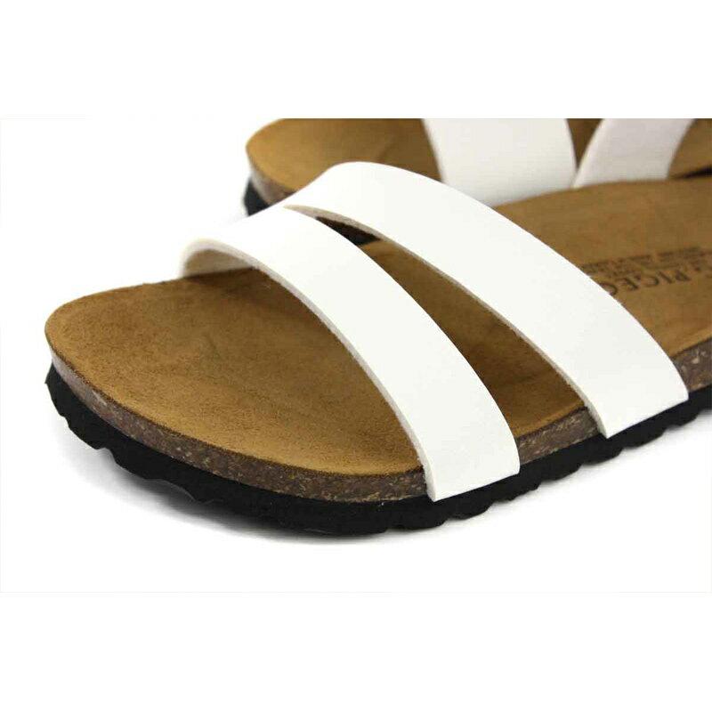G.P 阿亮代言 涼鞋 勃肯鞋型 女鞋 白色 W713-80 no384 3