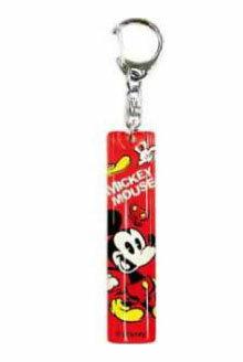 【真愛日本】15061600004 壓克力鎖圈-米奇紅圓 迪士尼 米老鼠米奇 米妮 吊飾 飾品 鑰匙圈 正品 限量 預購