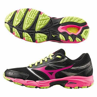 《限時特價↘7折免運》MIZUNO WAVE EMPOWER 2 女鞋 慢跑 路跑 輕量 黑 粉 綠 【運動世界】 K1GL151024