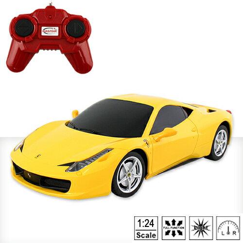 ~瑪琍歐玩具~1:24 FERRARI 458 ITALIA 遙控車