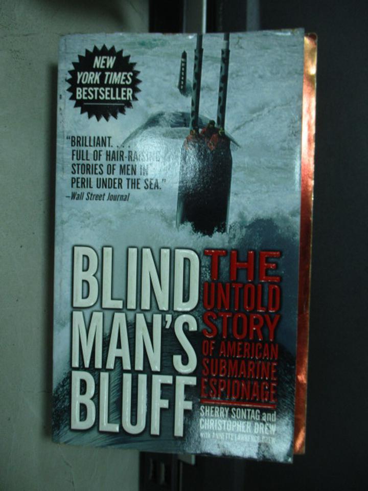 【書寶二手書T8/原文小說_KBO】Blind Man's Bluff
