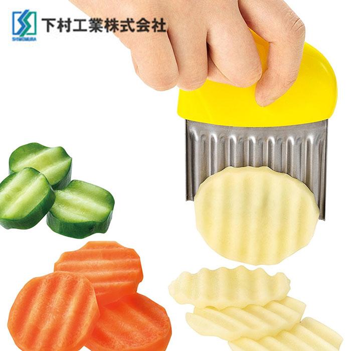 【下村工業】馬鈴薯波浪切片器 FV-616