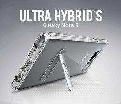 倍思 Note 8 - Ultra Hybrid S 複合式支架邊框透明保護殼 Samsung 生日禮物