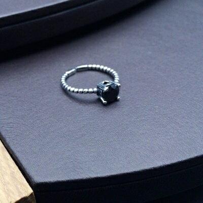 ~925純銀戒指鑲鑽銀飾~簡約 百搭生日情人節 女飾品73ic79~ ~~米蘭 ~