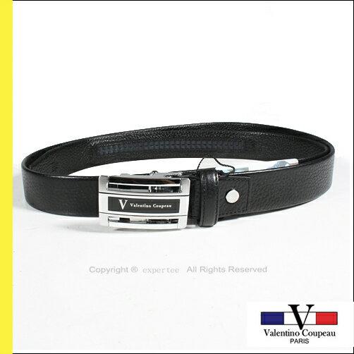 請先詢問庫存【騷包館】Valentino范倫鐵諾 法國品牌 簍空荔枝牛皮紋自動皮帶 VV-127-3