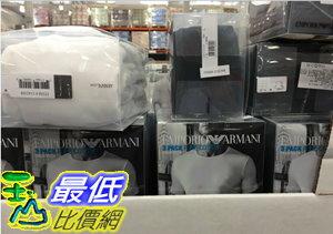 [106限時限量促銷] COSCO EMPORIO ARMANI CREW NECK 男短袖內衣三入組 美國尺寸:S-XL C1142308