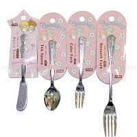 雙子星周邊商品推薦到雙子星 湯匙 叉子 抹刀 不鏽鋼餐具 餐具 日本製造進口 限定販售 * JustGirl *