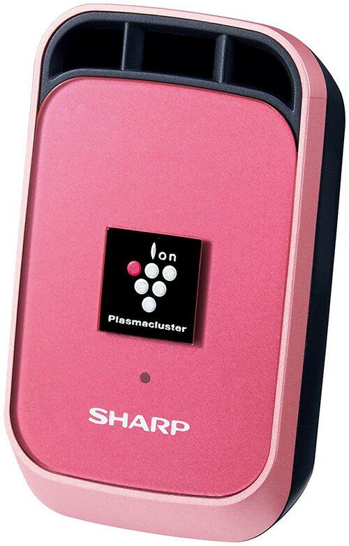 【現貨】 SHARP 夏普 車用空氣清淨機 攜帶式 USB裝置 除異味 IG -GC1 - 桃紅