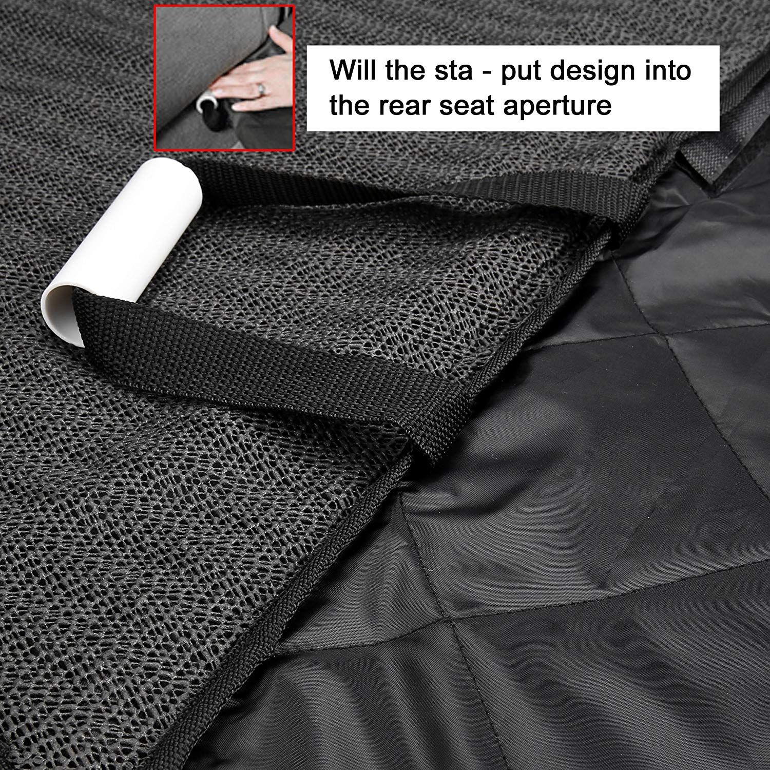 Dog/Cat Car Seat Cover Waterproof Hammock Non-Slip Pet Rear Seat Protector Covers for Cars Trucks Suv 5