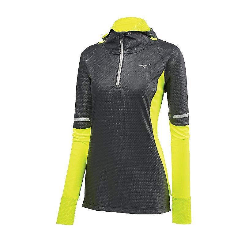 Mizuno Women's Static Breath Thermo Wind Running Top