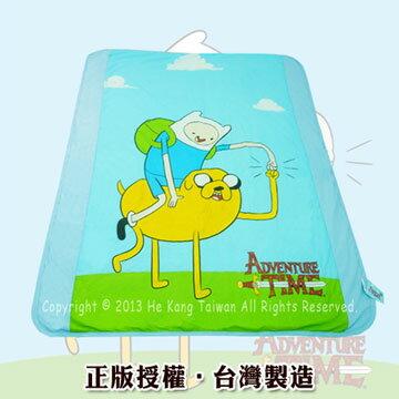 【兒童用品】朴蜜兒正版授權卡通涼被-阿寶與老皮