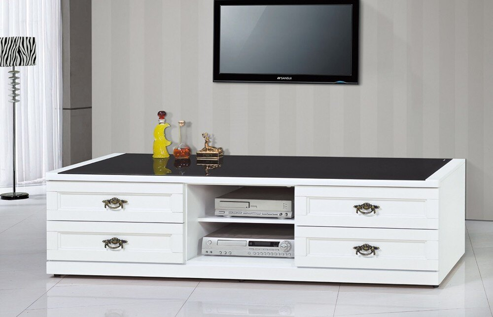 【MUNA】奧利爾白色6尺電視櫃
