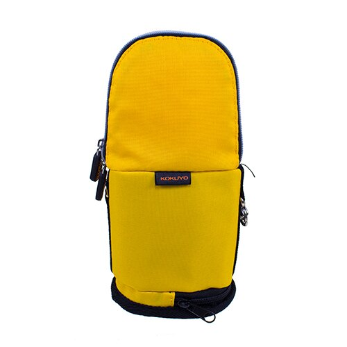 【KOKUYO】  critz多功能直立式筆袋-大(鵝黃) PS009-Y