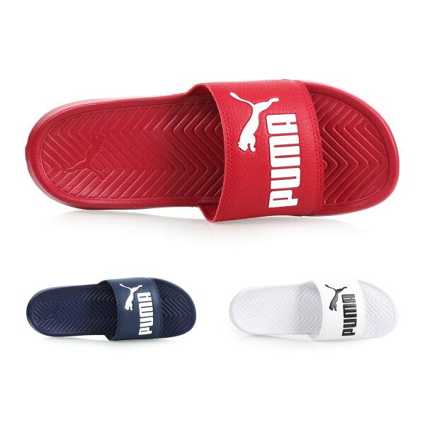 PUMAPopcat男女運動拖鞋(游泳戲水【02015745】≡排汗專家≡