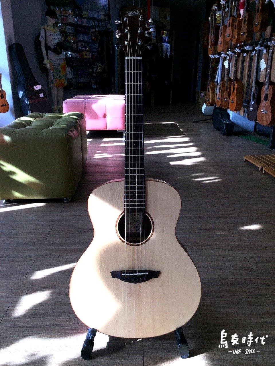 烏克時代~Veelah MC-R 36吋旅行吉他 面單雲杉+玫瑰木