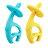 【安琪兒】【mombella】跳舞象固齒器(2色) - 限時優惠好康折扣