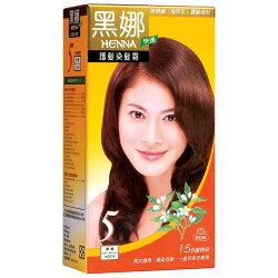 美吾髮黑娜護髮染髮霜-深栗80g【愛買】
