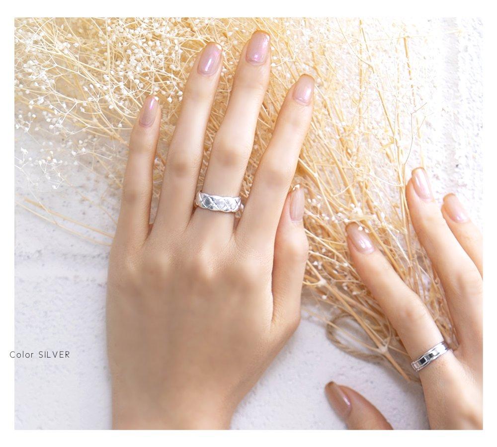 日本CREAM DOT  /  リング 指輪 金属アレルギー ニッケルフリー アクセサリー ボリューム 太め ごつめ 幅広 メンズライク 12号 メタル ゴールド シルバー シンプル 重ねづけ 上品 お呼ばれ 小物 ギフト 大人 レディース 女性  /  qc0434  /  日本必買 日本樂天直送(1190) 7