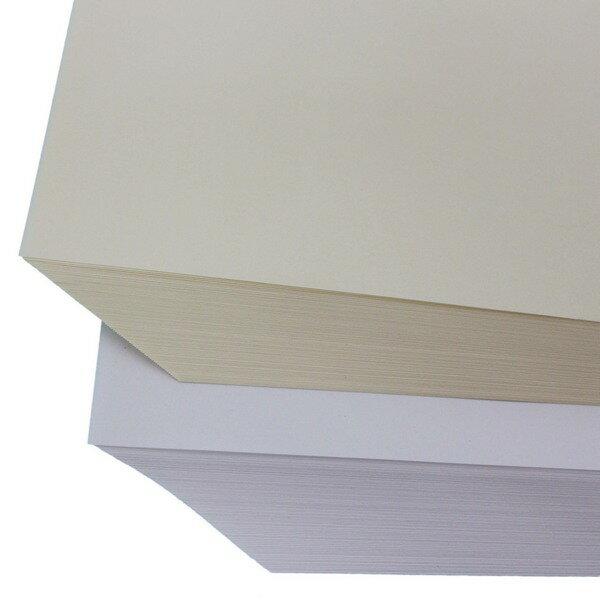 8開 印書紙 白報紙 50磅(米黃色)/一小包80張入{促45} 環保紙 模造紙~文