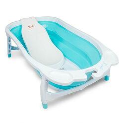 凱俐寶 KARIBU TUBBY 折疊式澡盆/浴盆+LAYBACK SEAT 躺椅★衛立兒生活館★