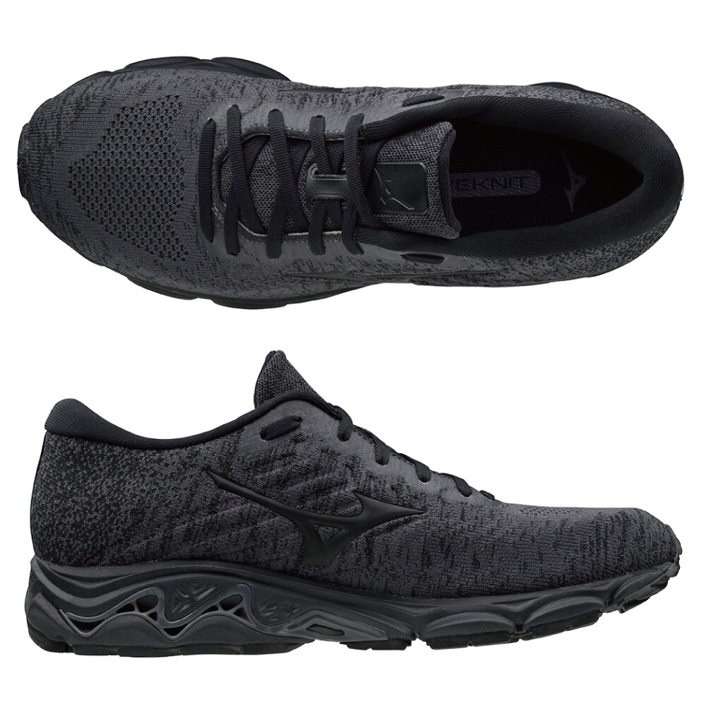 WAVE INSPIRE16 WAVEKNIT 支撐型男款慢跑鞋 J1GC201309【美津濃MIZUNO】 1