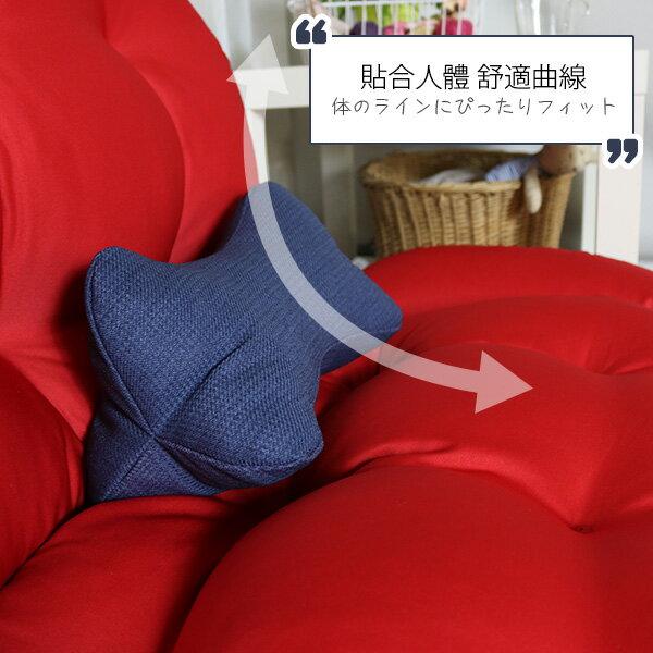 骨型枕 靠墊 椅墊 腳靠墊 午安枕《2入-立體多用途骨型枕-小》-台客嚴選 2