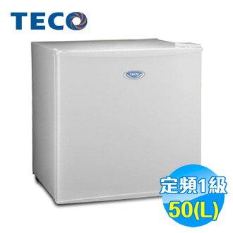 東元 TECO 50公升 旅館 單門小冰箱 R0511W